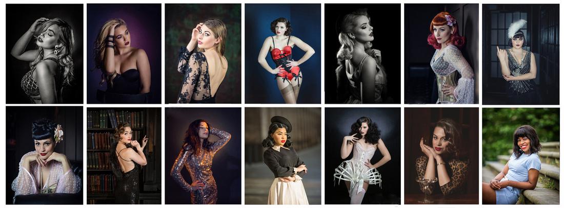 Photography and Photoshoots by Manchester Boudoir Fashion Vintage Portrait Studio UK