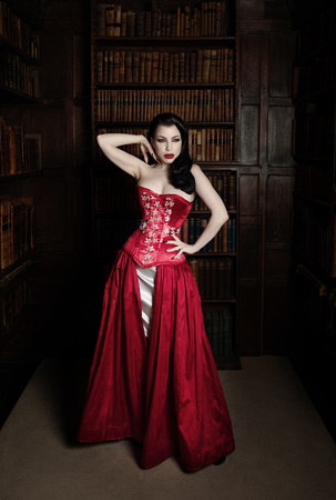 She Sews You Know Threnody in Velvet Oxford Conference of Corsetry